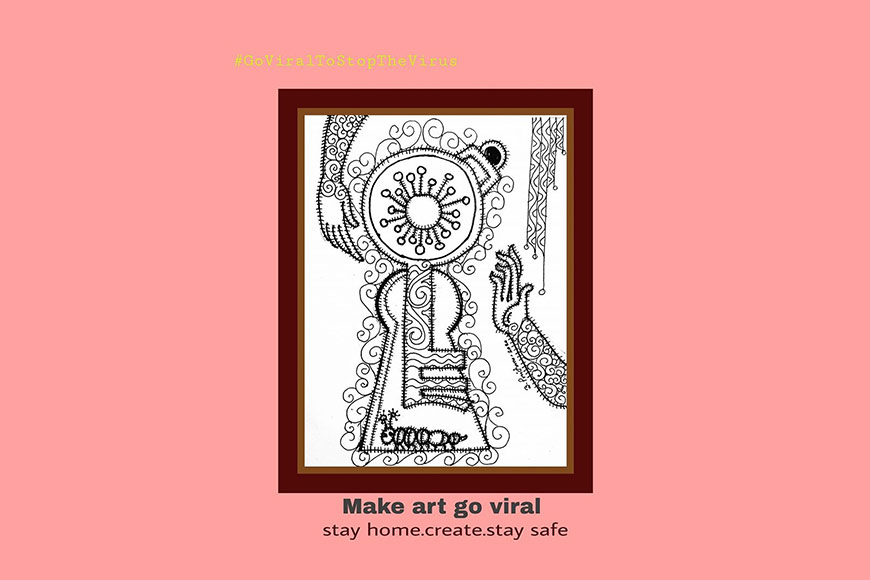Make art go viral