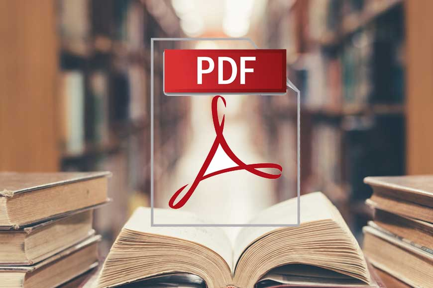 Librarian Tushar Mandal of Malda serves book-lovers through innovative PDF reading