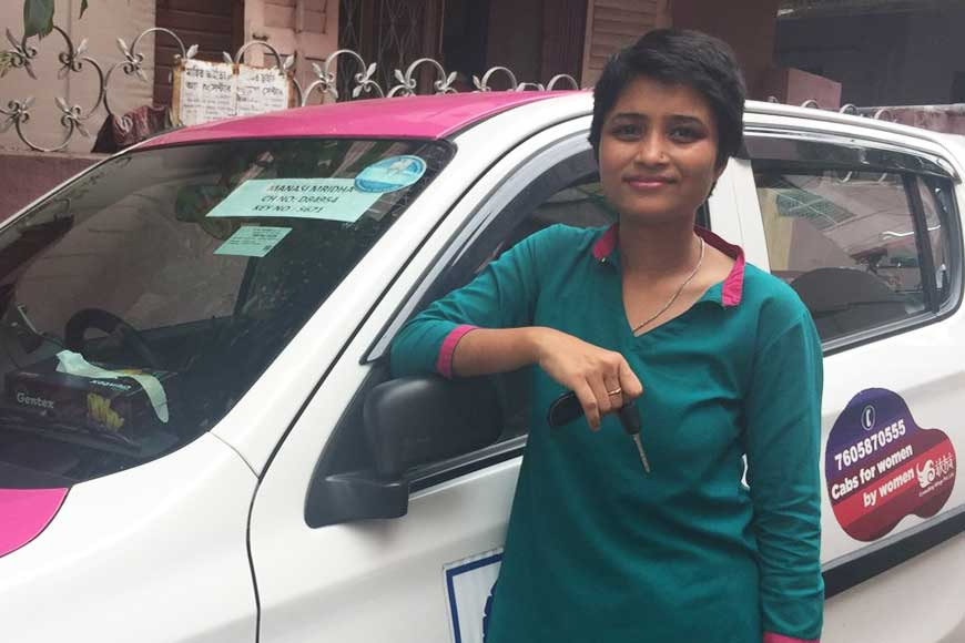 Manasi Mridha, Kolkata's first pink cab driver was abandoned by her dad for being a daughter