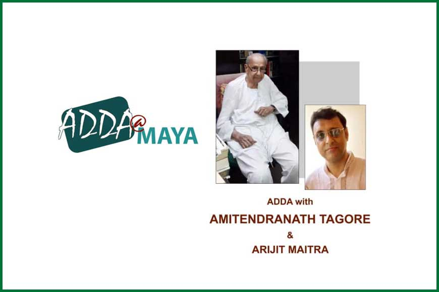 Want to meet Abanindranath Tagore's grandson? Be at MAYA Art Space tomorrow