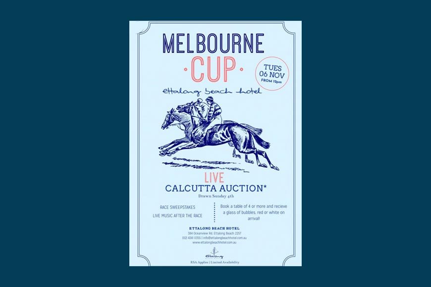 'Calcutta' bidding technique at one of the leading horseracing events of the world!