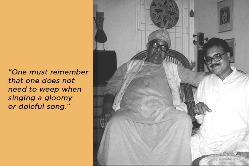 How Rabindrasangeet and Santidev Ghosh influenced Mohan Singh