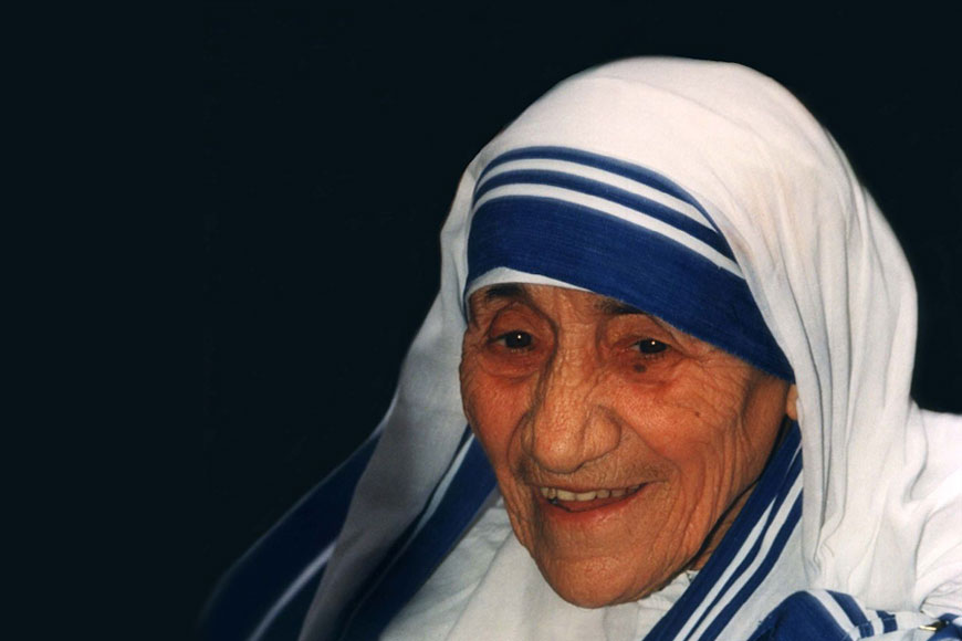 If you can't feed a hundred people, then feed just one. Tribute to Mother Teresa
