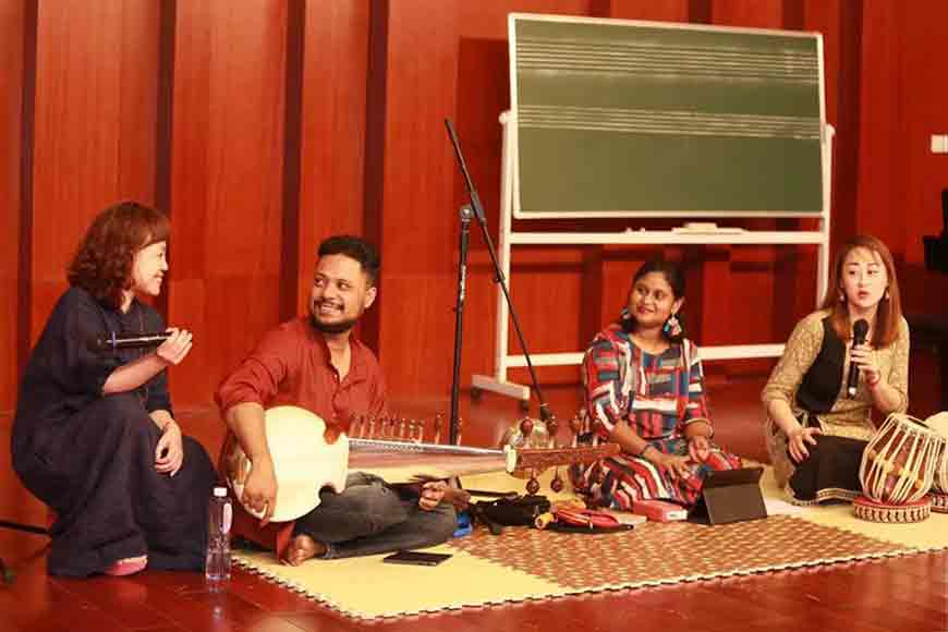 Musician from Bengal popularizes Indian Classical in China!