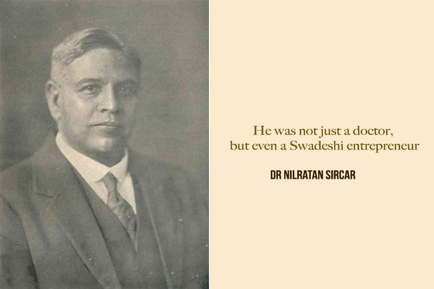 Dr Nilratan Sircar had taken up medicine to know cause of his mother's death!