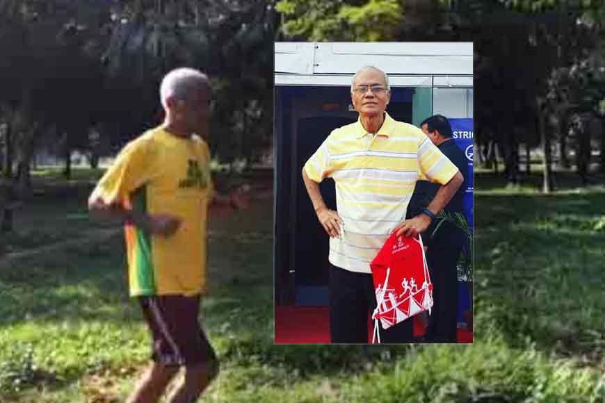 INSPIRATION! Nripen Chowdhury started running marathons at 65!