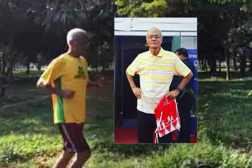 INSPIRATION! Nripen Chowdhury started running marathons at 65!