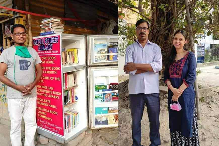 A Library in an old fridge: It can only happen in Kolkata, The City of Learning
