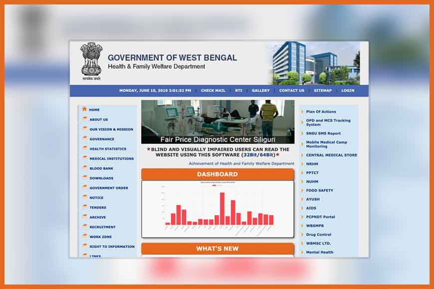 Online OPD appointments for state run hospitals in Bengal