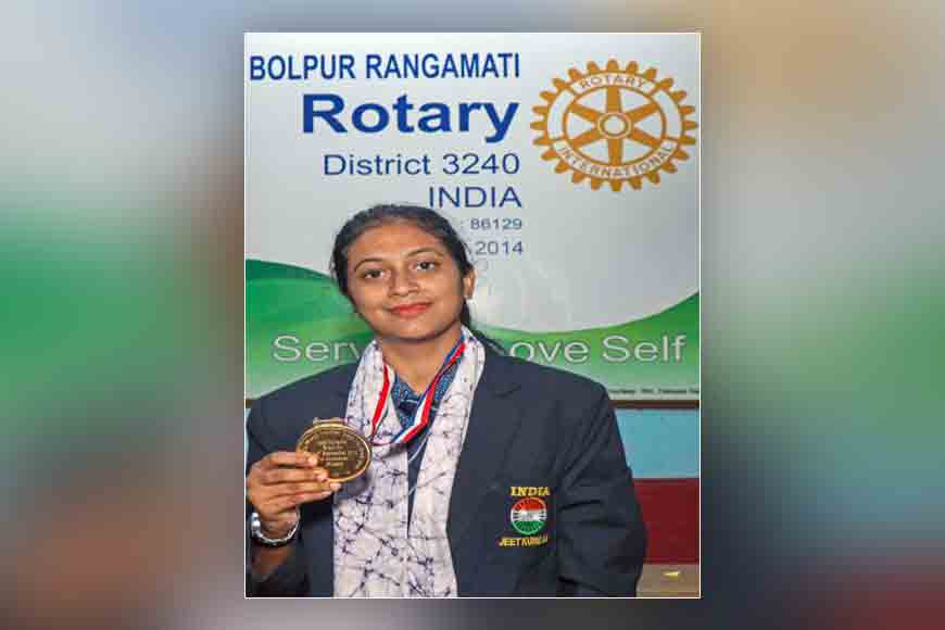 Paramita of Birbhum fought poverty to win gold at World Karate Champs.