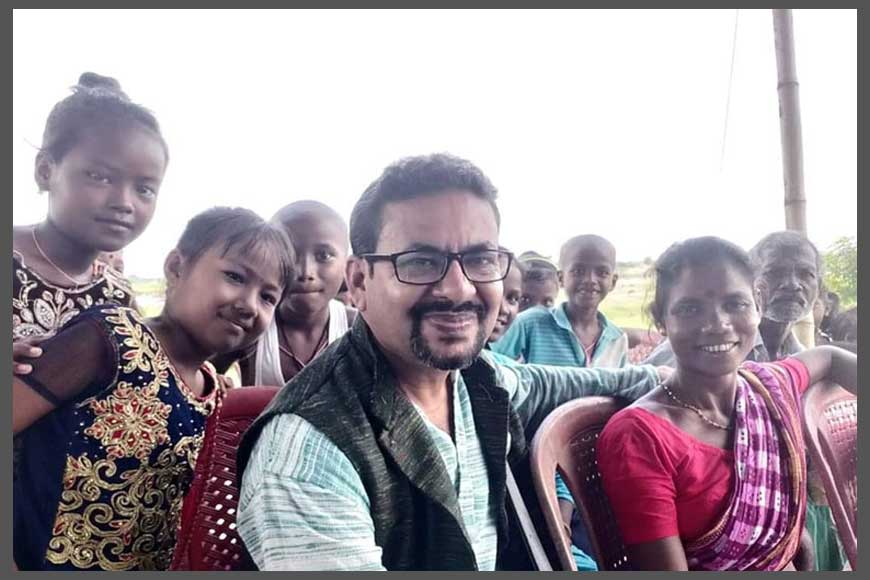 Dr Partha Pratim of Dooars has been fighting superstitions and teaching Science to Adivasis