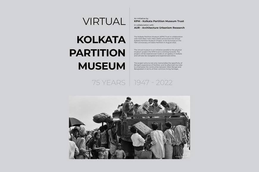 Kolkata Partition Museum prepares for virtual avatar