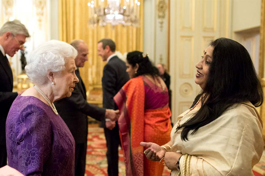 Among the 100 most influential persons in the UK-India relationship