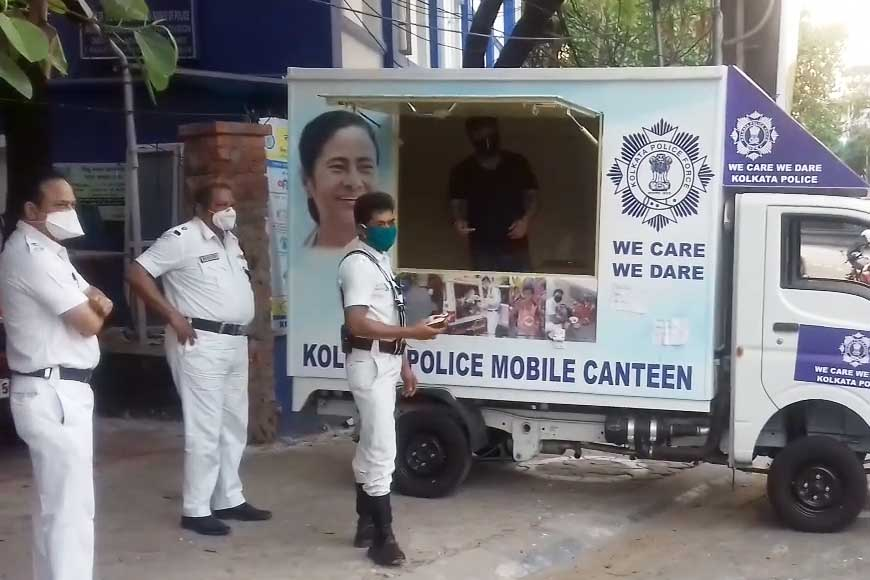 Have you ever wondered where the policemen on the streets are getting food from?