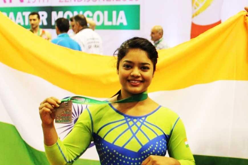 From Jhargram to Tokyo Olympics! Pranati Nayak, India's lone gymnast from Bengal