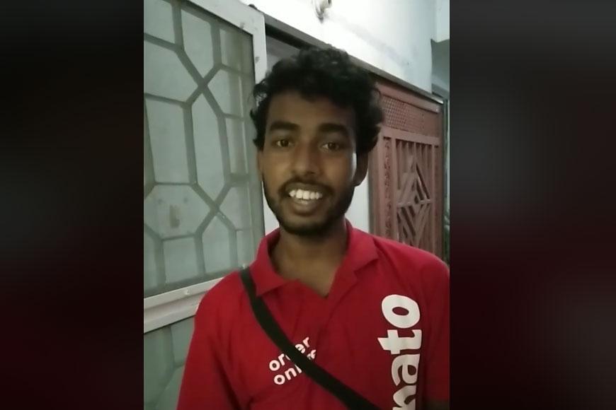 Pranjit Haloi, Kolkata's Zomato Delivery boy raises musical storm