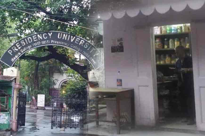 Sukumar Da's canteen at Presidency University