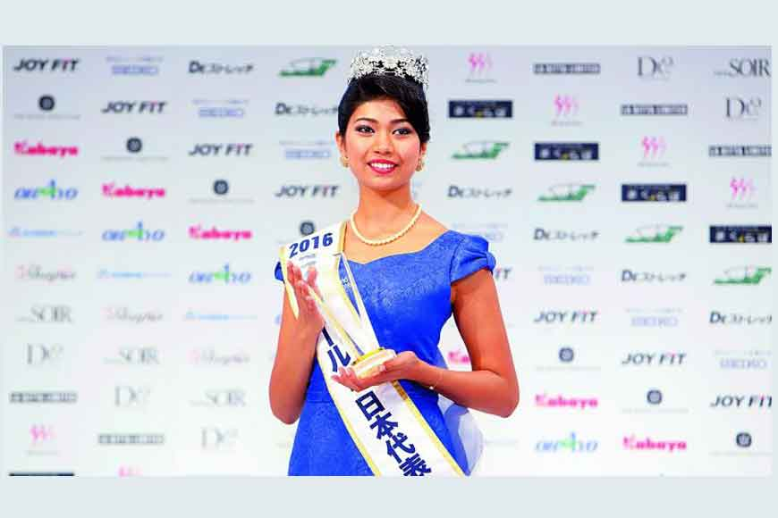 Why Miss Japan speaks fluent Bengali?
