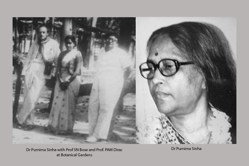 The first woman physicist to get a PhD from Calcutta University!