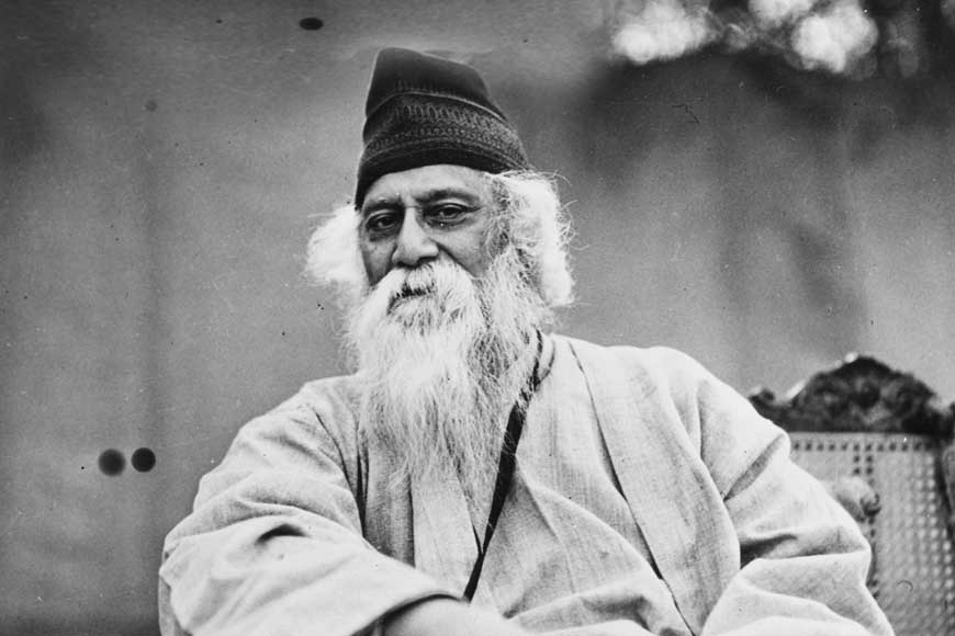 What did Tagore write after his dear son died in a cholera epidemic?