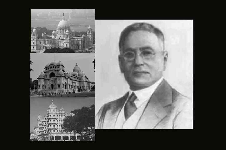 Bengali architect Rajendranath Mookerjee builds Victoria Memorial
