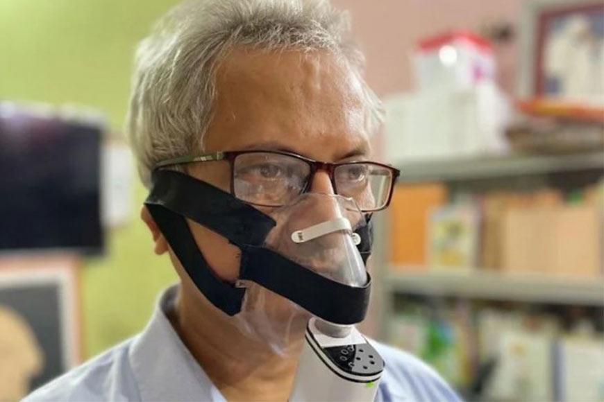 Dr. Ramendra Lal Mukherjee invents pocket ventilator as a safe alternative to arrest Black Fungus cases