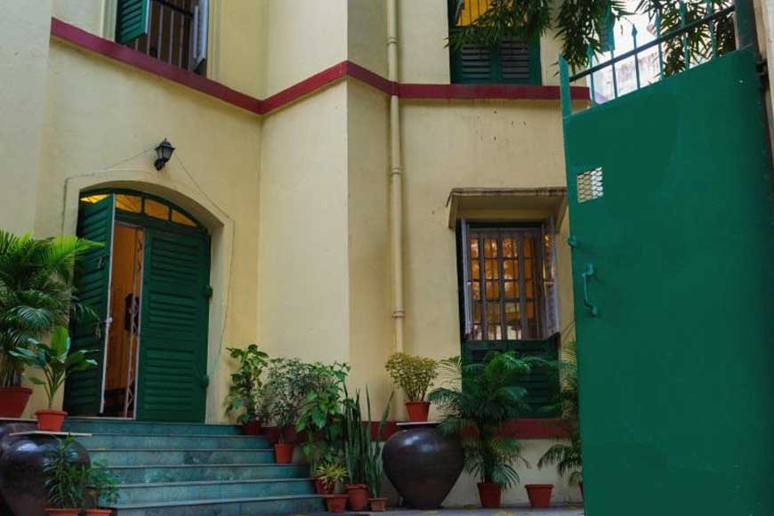 Amritendu Roy's old heritage bungalow turned to a home-stay jewel of Kolkata