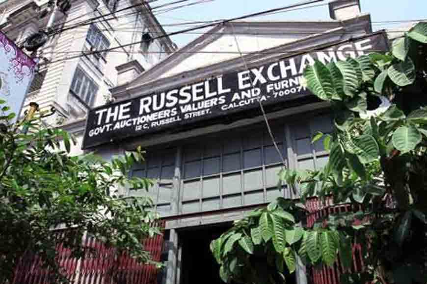 Oldest surviving auction house of India, Kolkata's Russell Exchange!