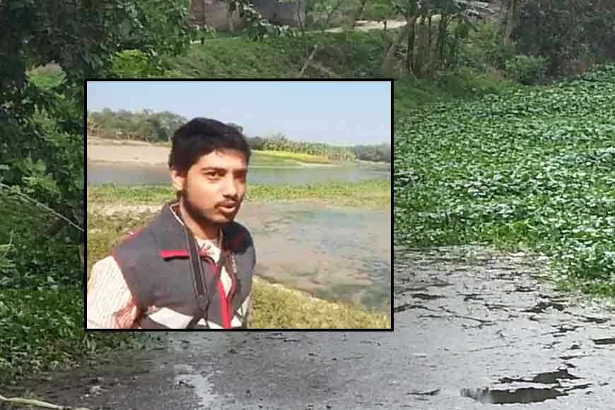 Ichhamati is dying; Lone crusade of a 26-year-old to save his beloved river