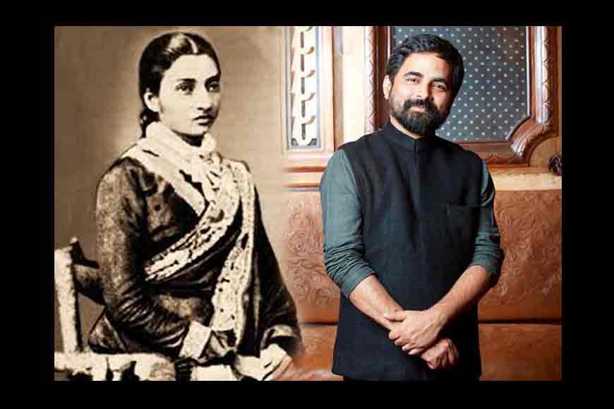 Who taught Bengali women to drape a saree?