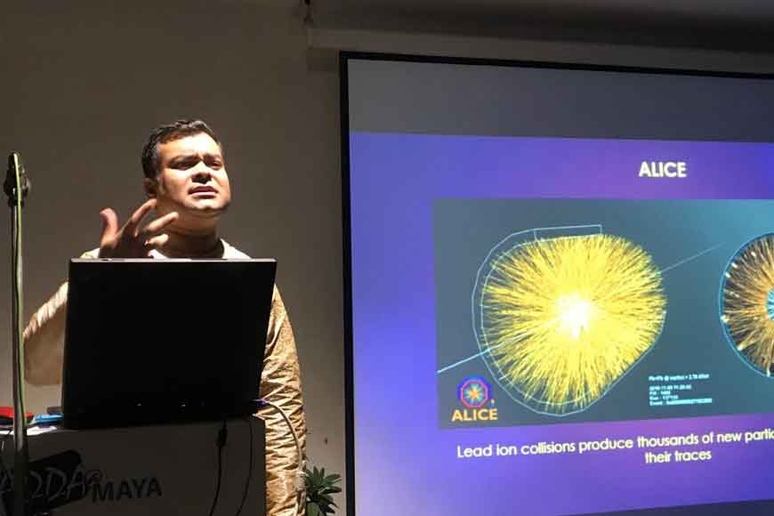 CERN scientist Sabyasachi Siddhanta on Particle Physics
