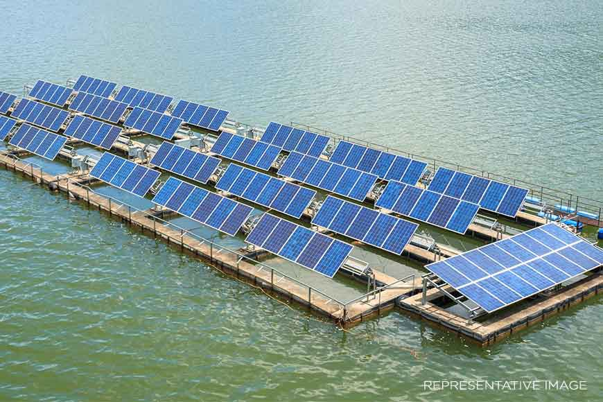 India's largest floating Solar Power Plant to be set up in Bengal