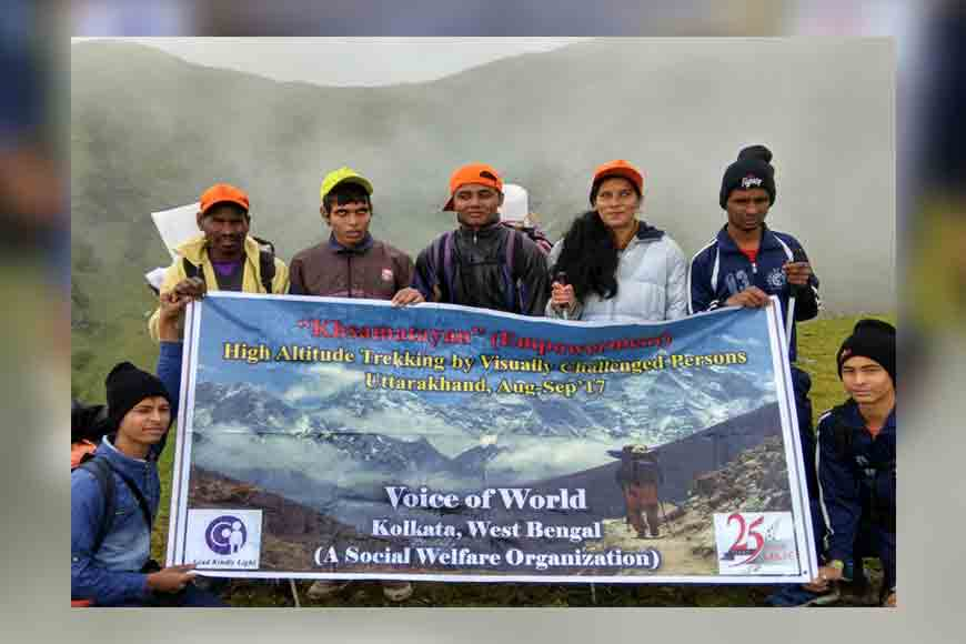 Saksham – Special High Altitude Trek for differently-abled underprivileged children of Kolkata