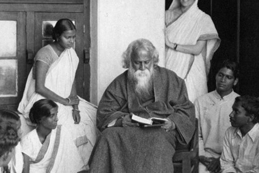 Tagore's profound spiritualism