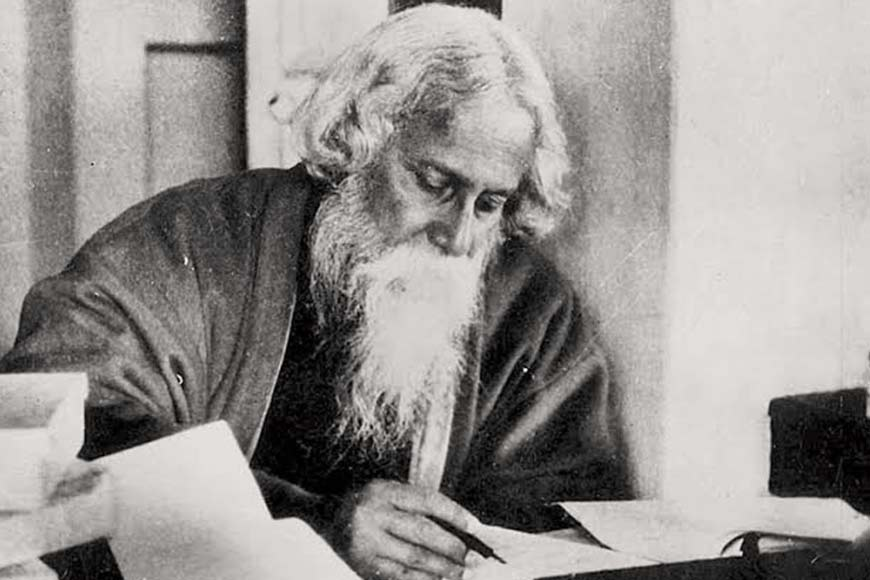 Tagore's love for ink and paper