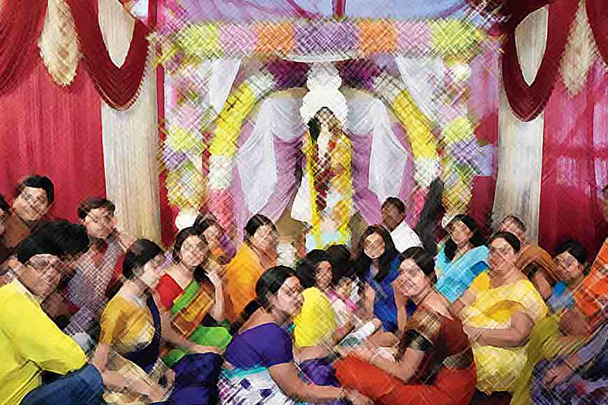 Saraswati Puja or Bangali Valentine's Day?