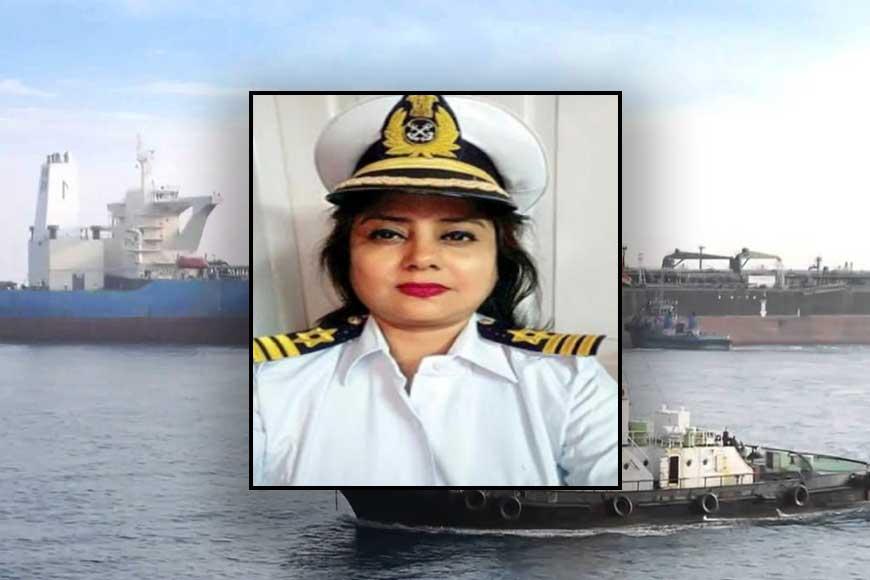 CONGRATS! Siliguri's Sarbari Das becomes first woman commander of Port Trust India!