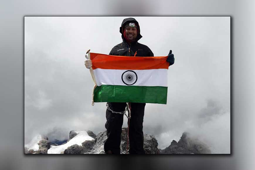 Mountaineer Satyarup Siddhanta embarks on a world record attempt
