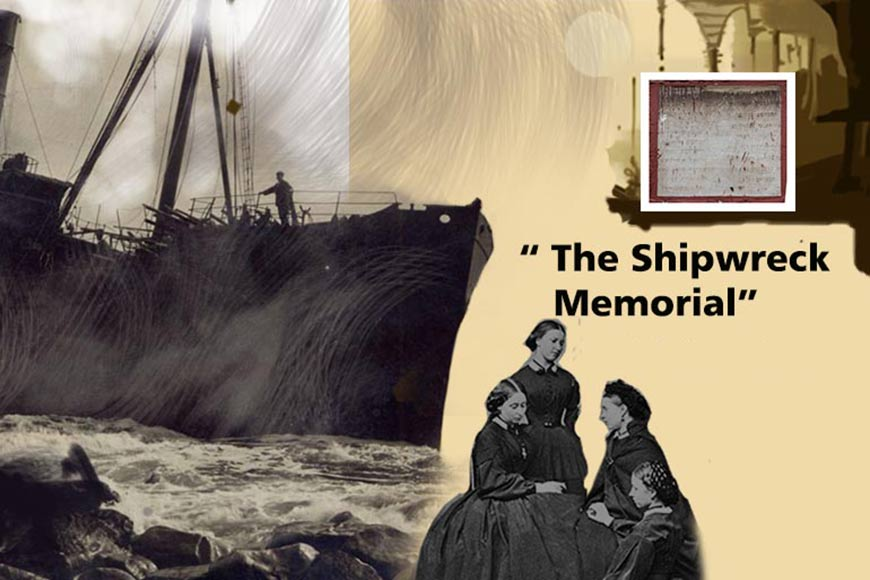 When an obscure stone plaque speaks of a heart-wrenching shipwreck in 1887 Calcutta