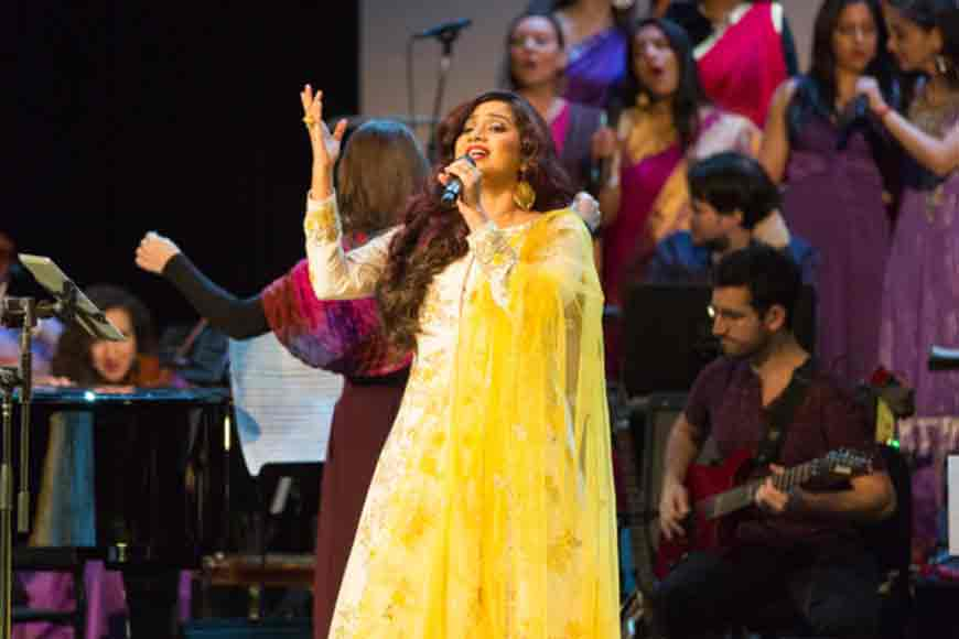 Ekla Cholo Re with Shreya Ghoshal!