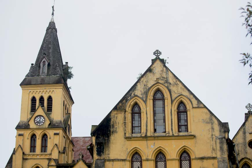 St. Andrew's Church, Darjeeling's history cast in stone