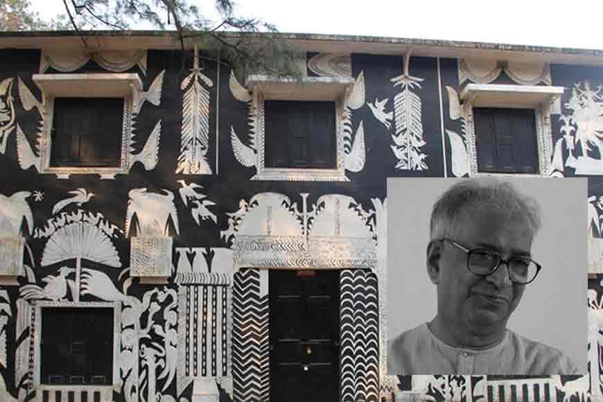 Grand murals of K.G. Subramanyan at Kala Bhavan