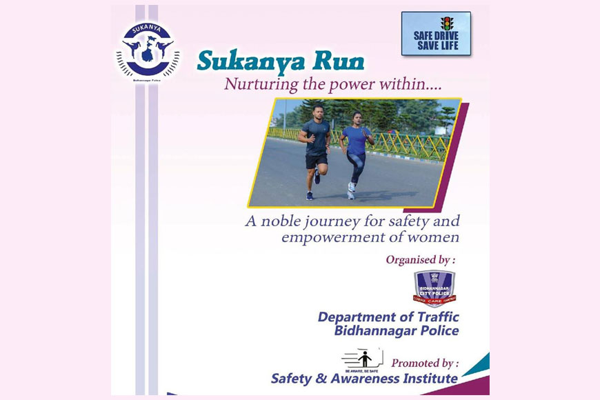 Sukanya Run--- A first of its kind marathon in Kolkata
