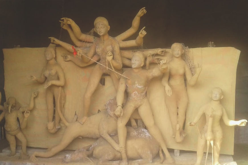 Sulunga, where Durga Puja ushered in a revolution