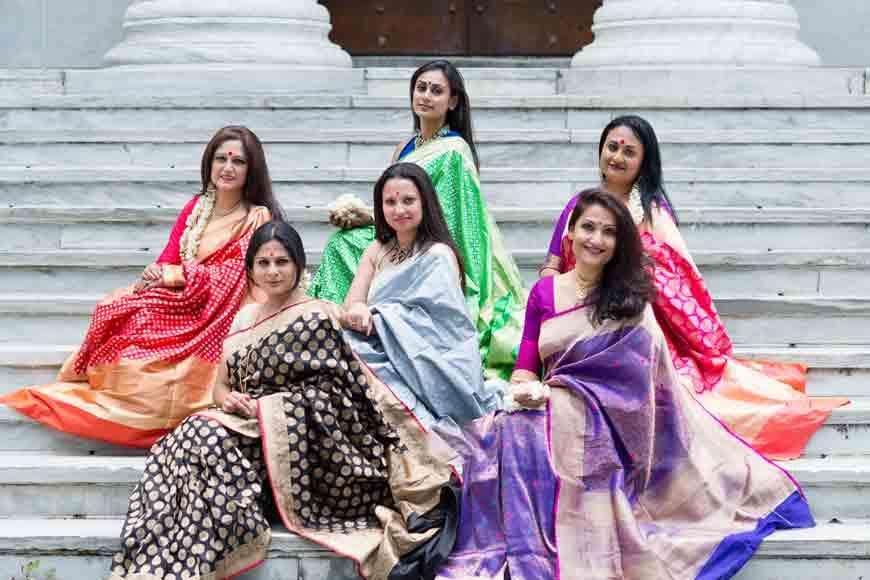 USA based designer Shumona in Kolkata with her trunk show