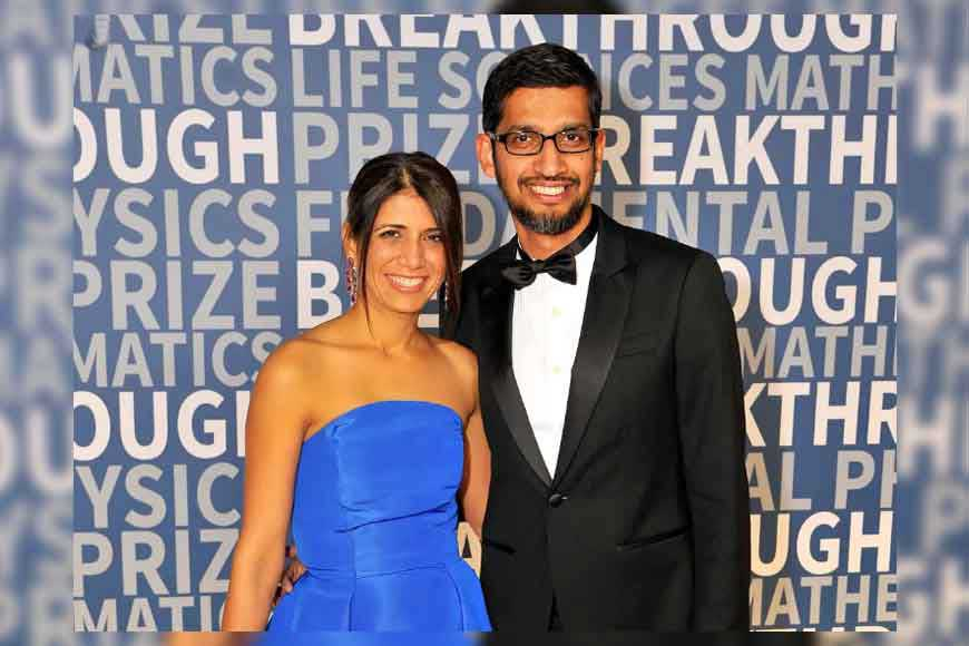 How Google & Alphabet Inc CEO Sundar Pichai found his lady love in Bengal