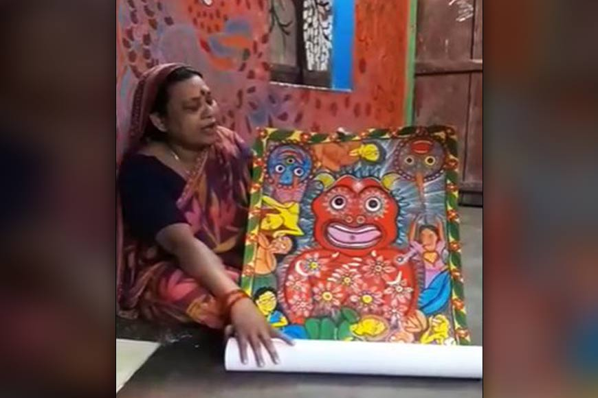Corona Patachitra – How Bengal is using art to spread awareness on COVID-19