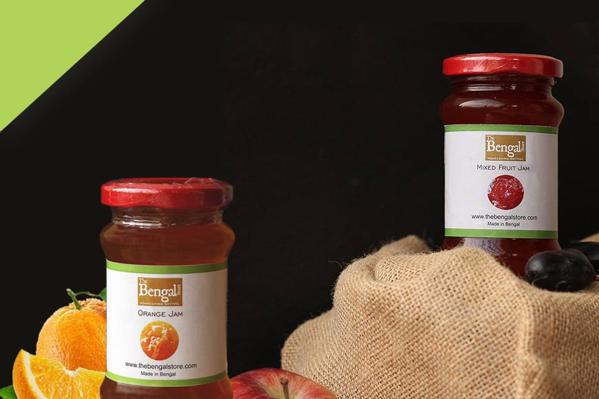 All the goodness of fresh fruits in our mixed fruit jam