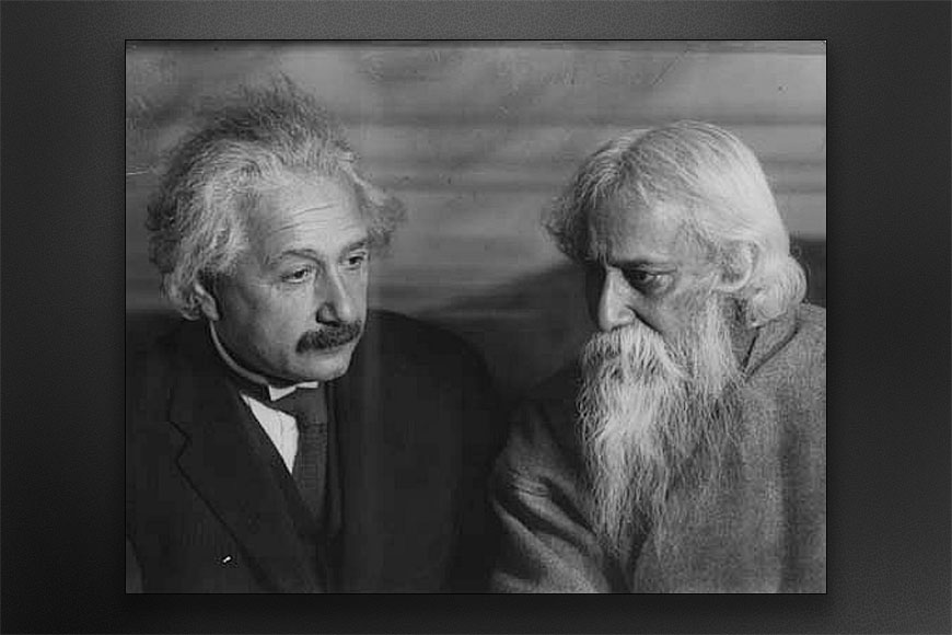 When two planets were engaged in a chat – why Tagore and Einstein never agreed?