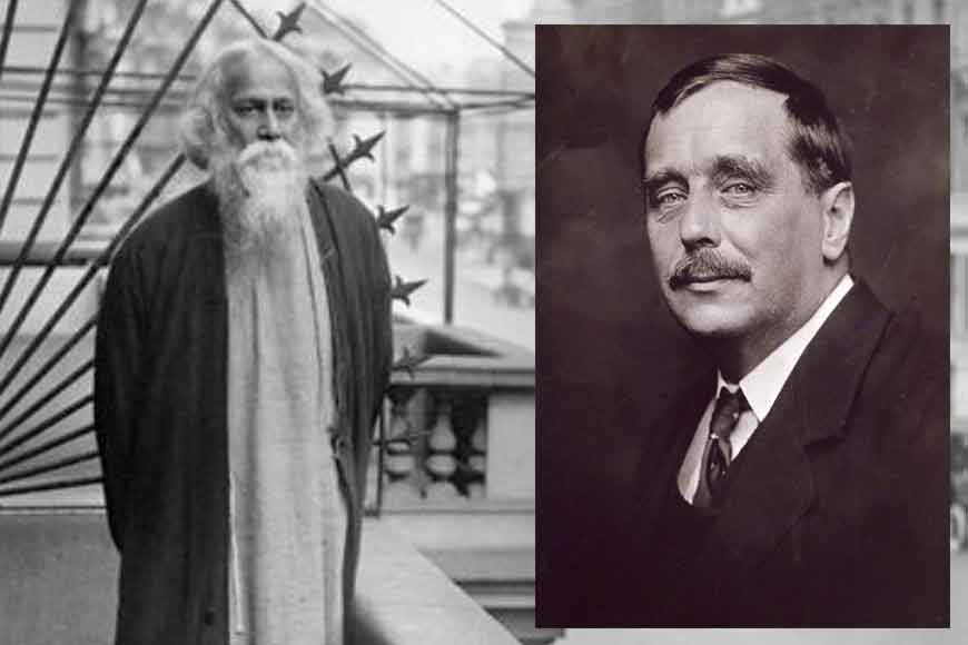 Tagore and H.G. Wells